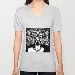asc 712 - Le masque de la Méduse (Object woman) Unisex V-Neck