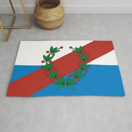 Flag of La rioja Rug