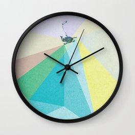 human edge #1 Wall Clock