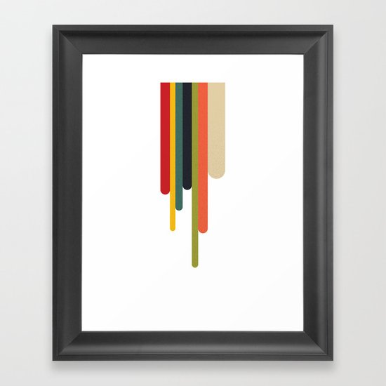 Trickle Framed Art Print