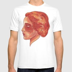 Woman (profile) MEDIUM Mens Fitted Tee White