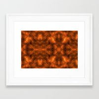 gold foil Framed Art Prints featuring Gold Foil Texture 6 by Robin Curtiss