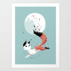 Shedding Art Print