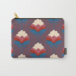 Retro fall florals- n. 2 Carry-All Pouch