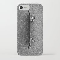 skateboard iPhone & iPod Cases featuring Skateboard by short stories gallery