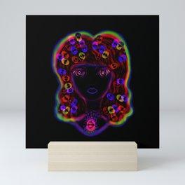 Jazzy Jody Blacklight I Mini Art Print
