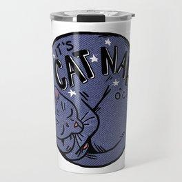 Cat Nap o'Clock Travel Mug