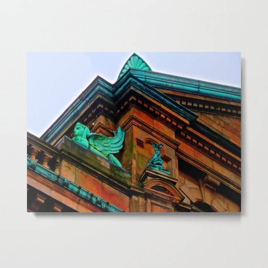 What's Your Angle? Metal Print