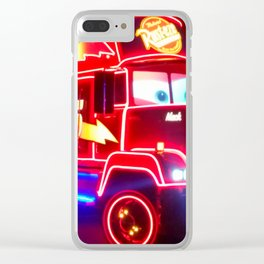 Neon Clear iPhone Case