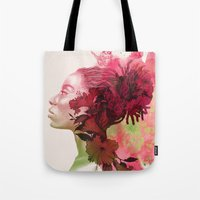 passion Tote Bags featuring Passion by Magenda