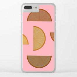 Citrus Punch Clear iPhone Case