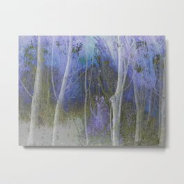 Spectral Forest Metal Print