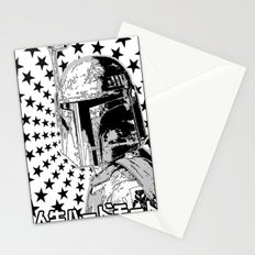 Boba Star Stationery Cards