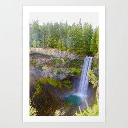 brandywine falls, 2017 Art Print