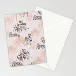 Tiger safari light Stationery Cards