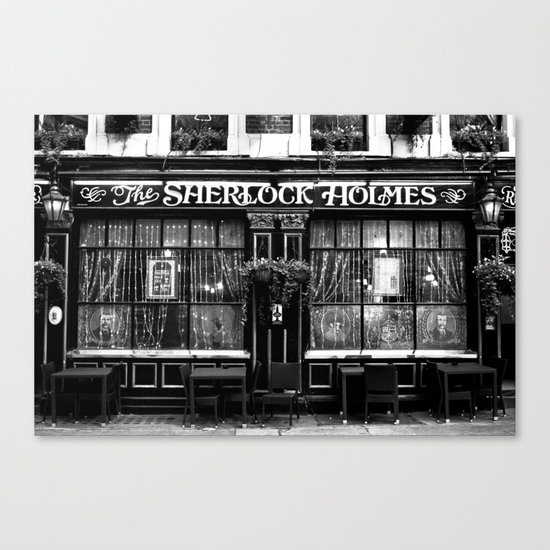The Sherlock Holmes Pub London Canvas Print