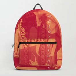 NYC Editorial Collage Backpack