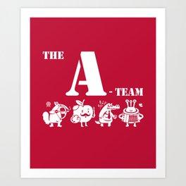 The A-Team Art Print