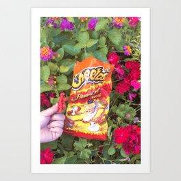 Hot Cheetos Pt.1 Art Print
