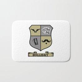 Doc Holliday Coat of Arms Bath Mat