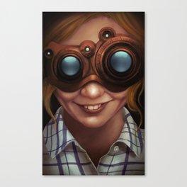 Steampunk VR Canvas Print