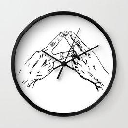 Alt-J Wall Clock