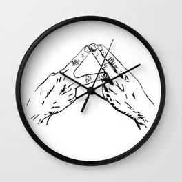 Alt-J Wall Clock