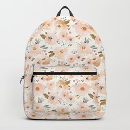 Peachy Blossoms Backpack