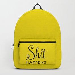Shit happens Backpack