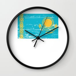 Kazakhstan Gift Idea for Kazakh Wall Clock