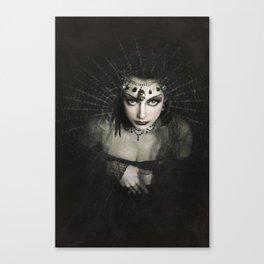 Queen of Shadows Canvas Print