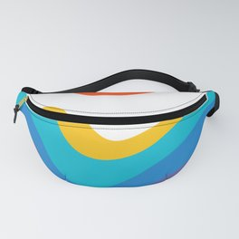 Abstract Y Minimum Colorful Pattern Fanny Pack