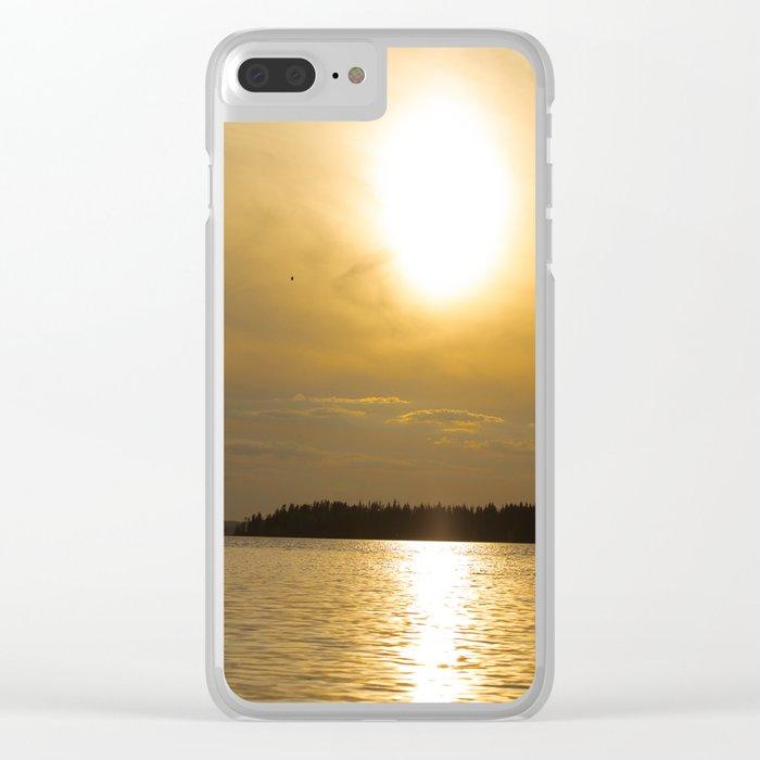 Against The Sun Bridge Clear iPhone Case