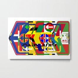 Traffic 01 Metal Print