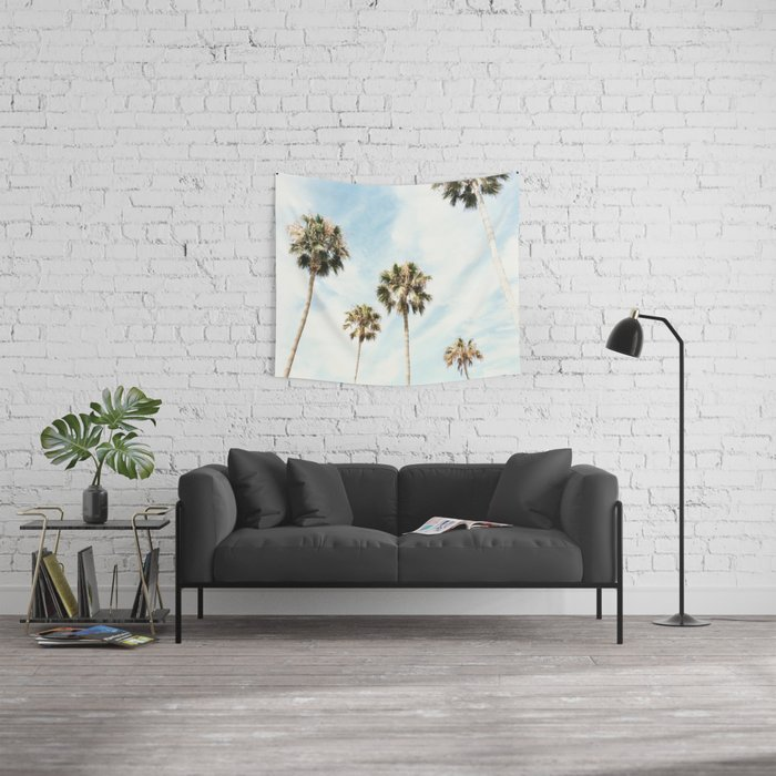 Palm Trees Please Wall Tapestry