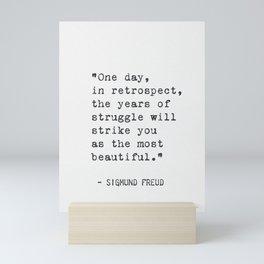 Sigmund Freud qt Mini Art Print