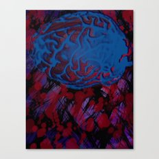 Synapses Firing Canvas Print