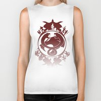 thundercats Biker Tanks featuring Battle For Third Earth by Vitalitee