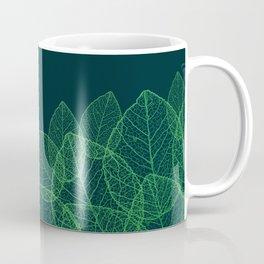 Dry Leaves - Green Coffee Mug