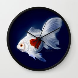 Fishy Knows It Best Wall Clock
