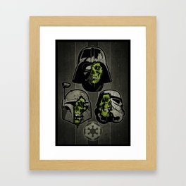The Galactic Empire Framed Art Print