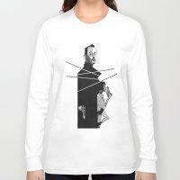 leon Long Sleeve T-shirts featuring Leon the Professional by MacNaughtonArt