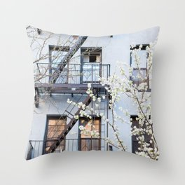 Brooklyn Spring Throw Pillow