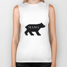 Mama Bear in Black Biker Tank