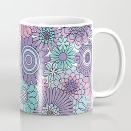 Thrifted Linen Lavender Coffee Mug