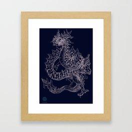 Ryuusei Framed Art Print