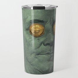 Bitcoin supremacy/dollar  Travel Mug