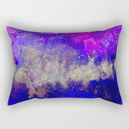 Galaxy Skyline Rectangular Pillow