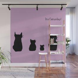 It's a cute Caturday ! Wall Mural