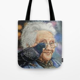 Pigeon Lady Tote Bag